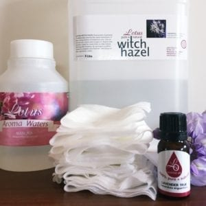 witch hazel wipes