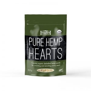 hemp hearts 500g pack