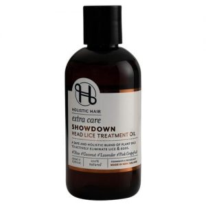 holistic hair showdown head lice treatment bottle