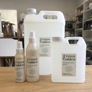 natural anti-bacterial spray