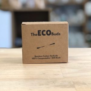 wooden and cotton eco buds