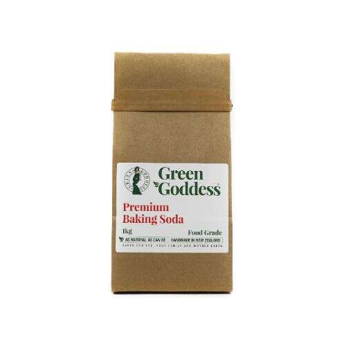 premium mined food grade baking soda in home compostable bag
