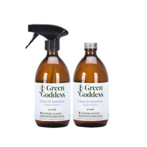 Green Goddess glass stainless spray cleaner with refill