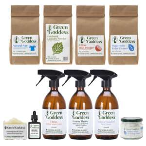 natural cleaning and laundry home change over kit