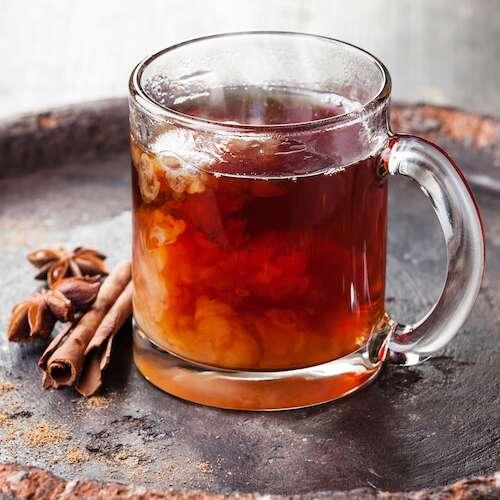 digestive chai tea with star anise liquorice